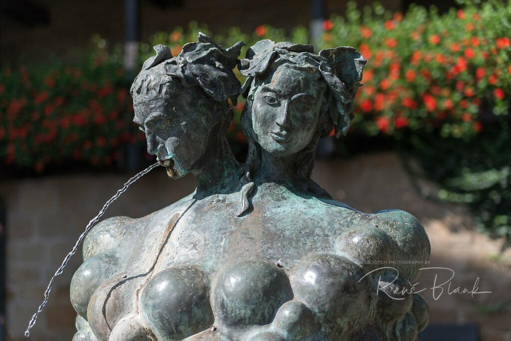 Weinbrunnen im Deutschen Hof, Güglingen
